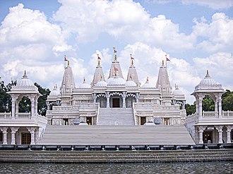 BAPS Shri Swaminarayan Mandir Atlanta - Image: BAPS Mandir Atlanta 1
