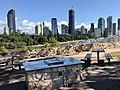 BBQ with a view at Kangaroo Point Cliffs Park, Queensland 03.jpg