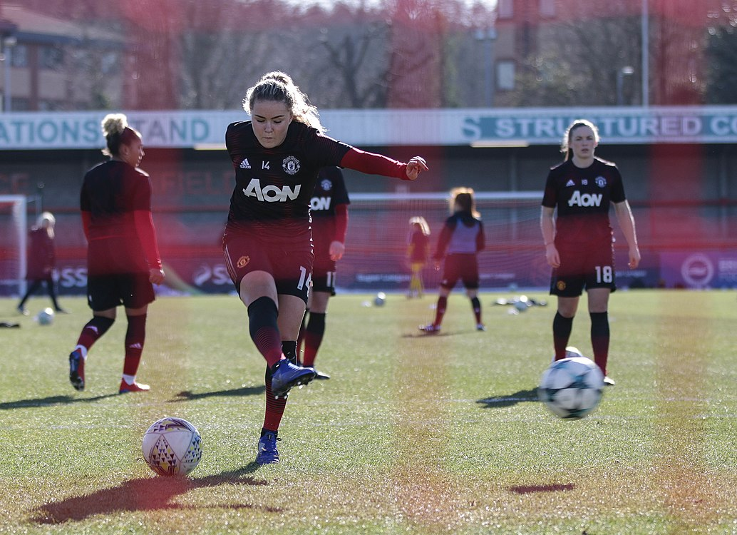 BHA Women 0 Man Utd Women 2 WFAC 4th rd 03 02 2019-163 (40021323063).jpg