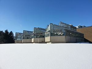 University of Waterloo Faculty of Science - Biology greenhouse at the UW Campus