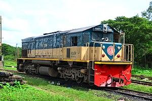 Bangladesh Railway Class 2900 - Locomotive 2902 at Sylhet Rail Station