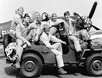 Baa Baa Black Sheep (TV series) - 1976 cast photo