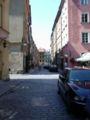 Back streets in the old town, Warsaw.JPG
