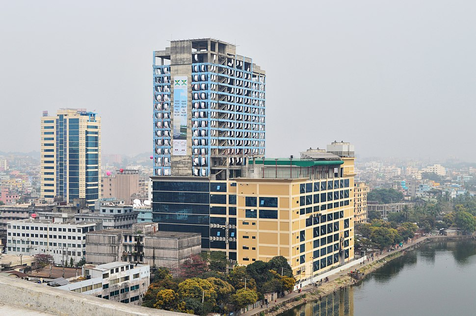 Back view of World Trade Center Chittagong from C&F Tower (02)
