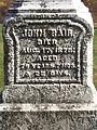 Bair (John), Brush Creek Cemetery, 2015-10-26, 01.jpg