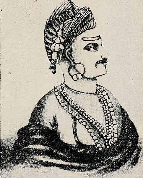 File:Bajirao II Peshwa India.jpg