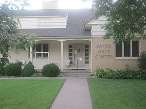 Liberal, Kansas - Image: Baker Arts Center, Liberal, KS IMG 6001