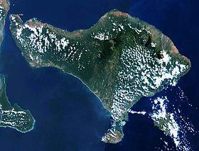 Image Satellite De Bali