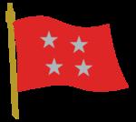 Bandera Comandante en Jefe Ejército de Chile.png