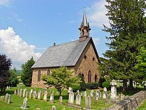 Churchtown, Pennsylvania - Bangor Episcopal Church