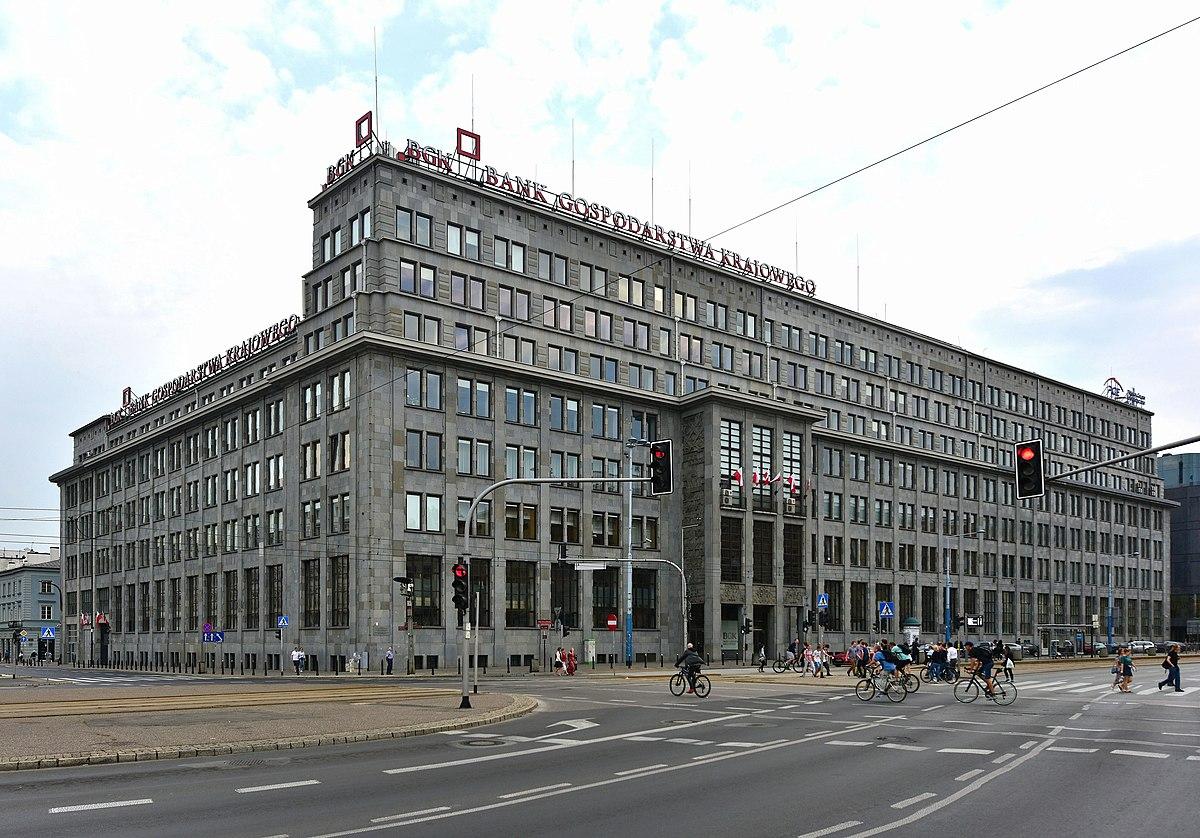 budynek banku gospodarstwa krajowego  warszawie wikipedia wolna encyklopedia