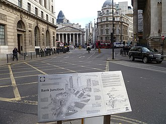 Bank junction - Bank junction in 2012, viewed from Poultry