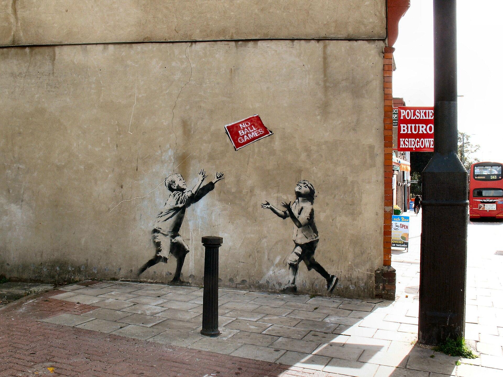 Banksy Wikipedia - psychologyarticles info