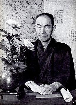 Bansui Doi photographed by Shigeru Tamura