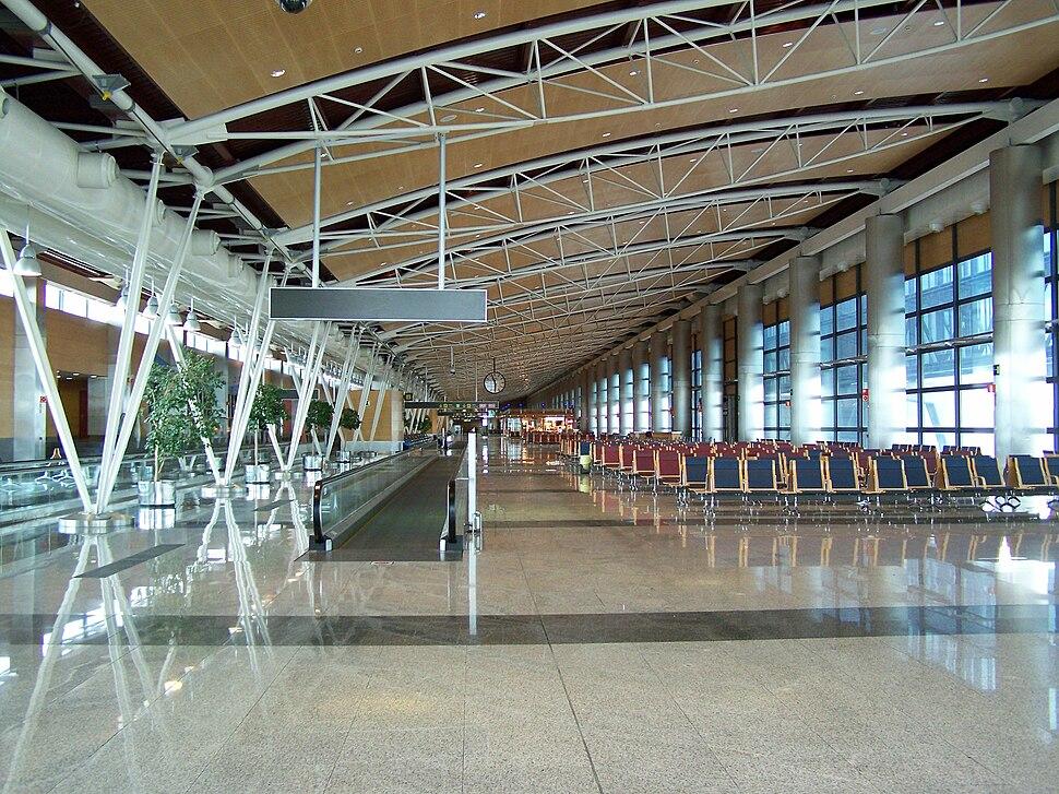Barajas terminal 1 interior 2008