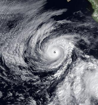 1983 Pacific hurricane season - Image: Barbara 14 June 1983