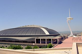 2002–03 Euroleague - The Final Four was held in Palau Sant Jordi