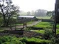 Barn and Sheepfold, Snowhope Close Farm - geograph.org.uk - 564552.jpg