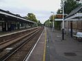 Barnes station fast westbound look east.JPG