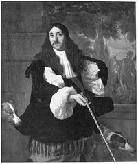 Portrait of Samuel de Marez