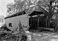 Bartram's Covered Bridge, Spanning Crum Creek, Newtown Square vicinity (Willistown-Newtown Townships), Newtown Square, Delaware County, PA HABS PA,15-WHIHO.V,3-1.jpg