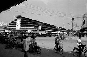 Battambang market. May 2000.
