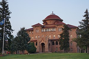 National Home for Disabled Volunteer Soldiers - Battle Mountain Sanitarium in Hot Springs, South Dakota