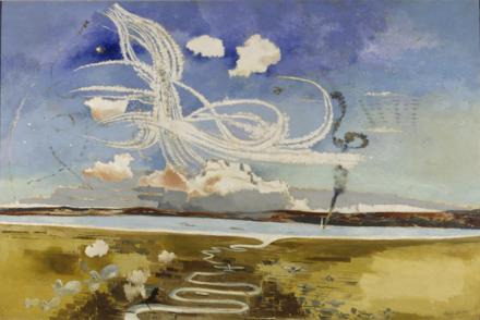 Battle of Britain by Paul Nash, 1941 Battle of Britain (Paul Nash).png