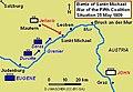 Battle of Sankt Michael 1809 Map.JPG