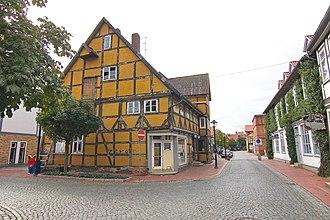 Wittingen - Monument house Kreyenberg from 1640