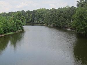 Lecompte, Louisiana - Bayou Boeuf in Lecompte