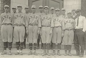 Iowa State Cyclones baseball - Image: Bb 1918 team