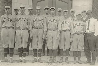Iowa State Cyclones baseball - Image: Bb 1918 team