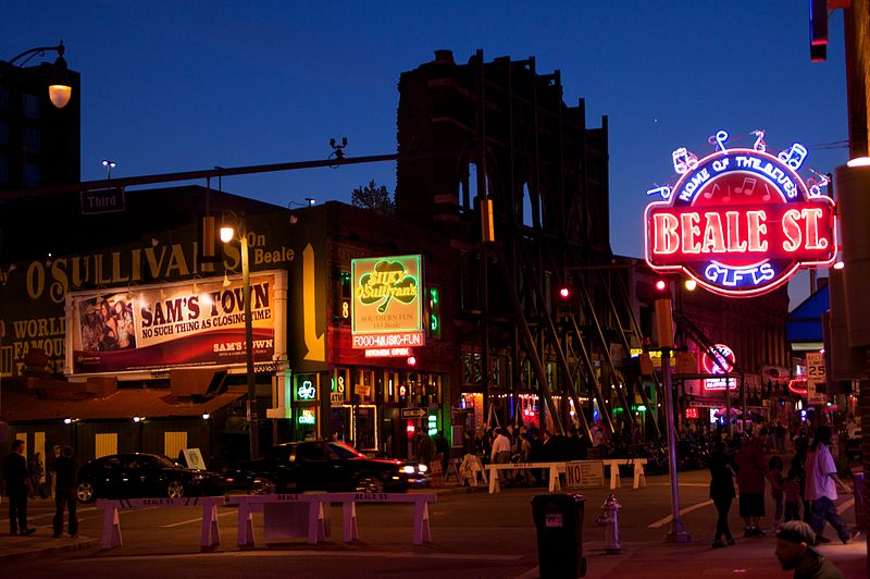Beale Street. From Memphis on a Budget