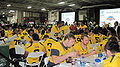 Bears at 2009 Poinsettia Bowl AT&T Team Luncheon at USS Midway Museum 2.JPG