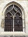Beauvais (60), église Notre-Dame de Marissel, bas-côté sud, fenêtre de la 1ère travée.jpg