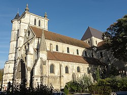 Beauvais (60), église Saint-Étienne, vue partielle depuis le sud 2.jpg