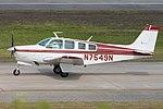 Beech E36 Bonanza 'N7549N' (25652996487).jpg