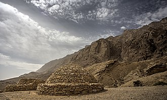 Al Ain - Beehive Tombs in the district of Jebel Hafeet are evidence of human habitation in the area approximately 5,000 years ago