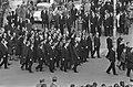 Begrafenis Adenauer, in de stoet, President Johnson , De Gaulle en Lubken op de , Bestanddeelnr 920-2640.jpg
