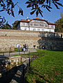 Belgrade. View from Promenade to the building of Institute for protection of cultural monuments of Belgrade.jpg