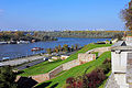 Belgrade. View to Usce Side from Kalemegdan Park.jpg