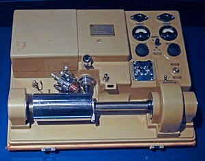 Image scanner - Belinograph BEP2V wirephoto machine by Edouard Bélin, 1930