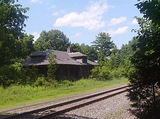 West Trenton Line (NJ Transit) - The Reading Company's Belle Mead station, which saw service until 1982