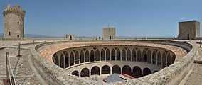 Bellver Castle Palma de Mallorca interior.jpg