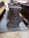 Bench. Church of Saint Francis. Listed ID 41. - Budapest.JPG