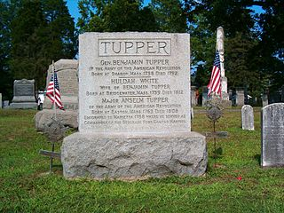 Benjamin Tupper 18th-century American Continental Army officer and pioneer