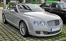Bentley Continental GTC Speed 20090720 front.JPG