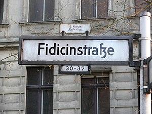 Fidicinstraße