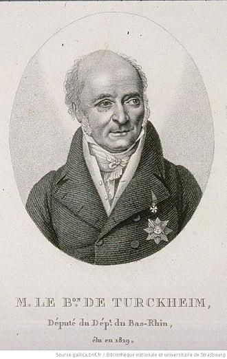 Jean Turckheim - 2nd Mayor of Strasbourg